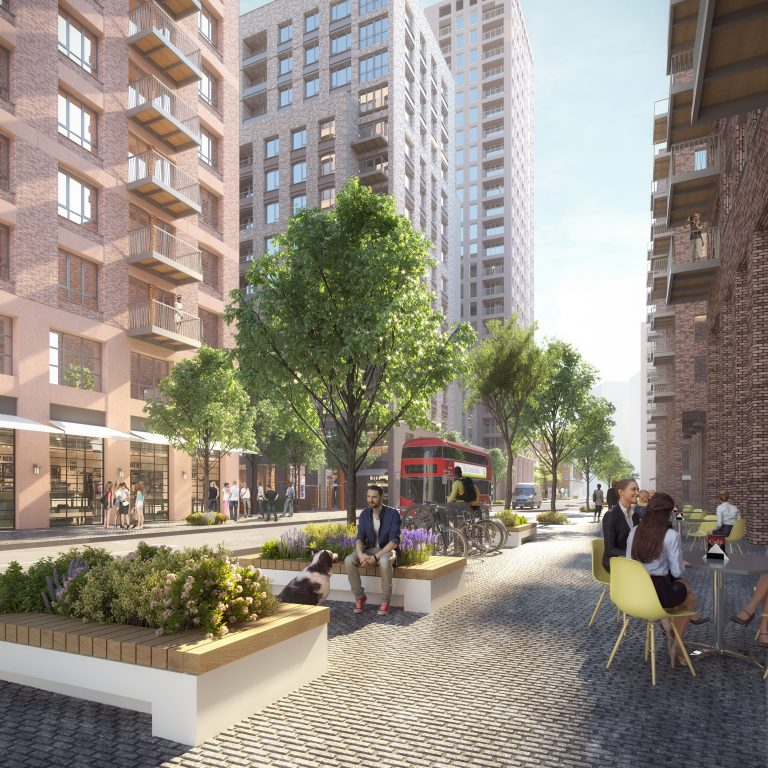 Southall set for major regeneration as Assael Architecture and Montreaux submit masterplan for over 2,000 homes in Ealing