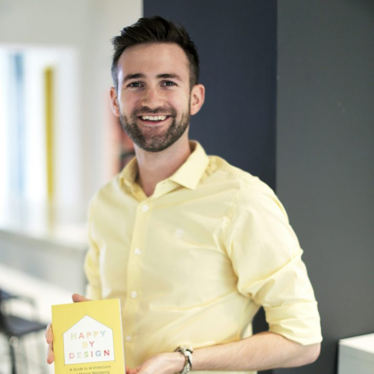 Ben Channon publishes 'Happy by Design : A Guide to Architecture and Mental Wellbeing'