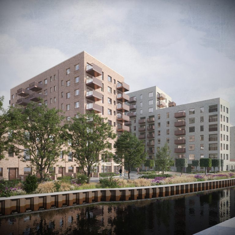 A2Dominion and Assael secure planning consent for 400 canalside homes