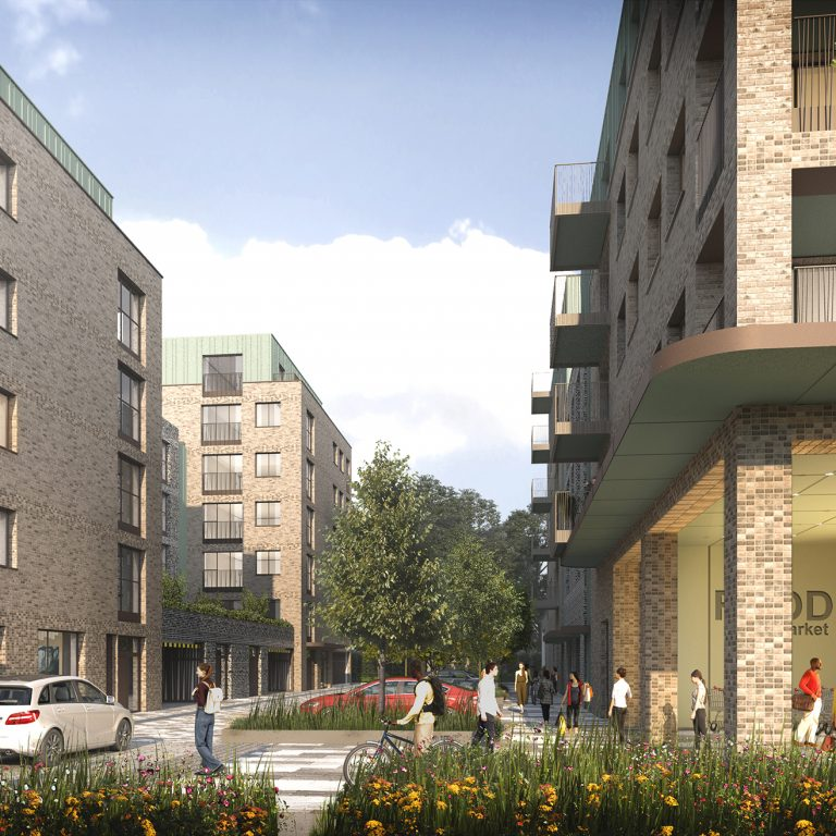 Montreaux and Assael given green light for 204 homes